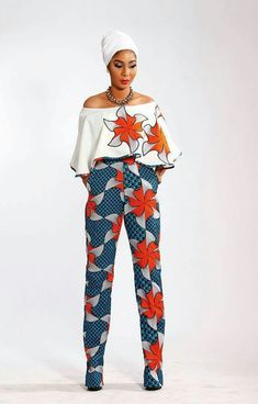 50 Ankara Styles for this december - Ankara Lovers African Dresses For Women, African Fashion Dresses, African Attire, African Wear, African Print Pants, African Print Clothing, African Prints, African Jumpsuit, Afro Punk Fashion