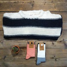 Trui van @alchemist_fashion & sokken van @qnoop #fairfashion #winter #knit #organic #socks Photo And Video, Videos, Winter, Bags, Instagram, Fashion, Winter Time, Handbags, Moda