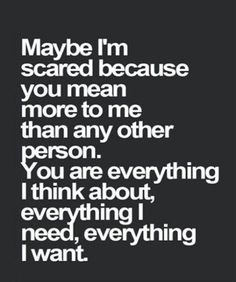 56 Relationship Quotes to Reignite Your Love 16 in love quotes 56 Relationship Quotes to Reignite Your Love Love Yourself Quotes, Love Quotes For Him, Scared To Love Quotes, Waiting For Her Quotes, Quotes About Being Scared, Remember When Quotes, Scared Of Love, Having A Crush Quotes, I Am Me Quotes