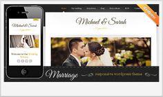 Marriage -Notch WordPress Theme for Wedding Websites