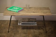 Coffee Table Made From Reclaimed Materials. £185.00, via Etsy.