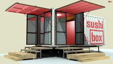 Another shipping container turned food trailer in Austin, Tx