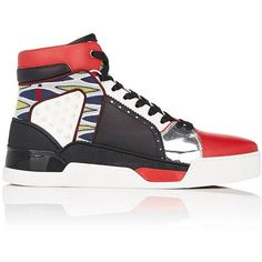 d256fa84cff0 Christian Louboutin Men s Loubikick Flat Sneakers ( 1,495) ❤ liked on  Polyvore featuring men s fashion