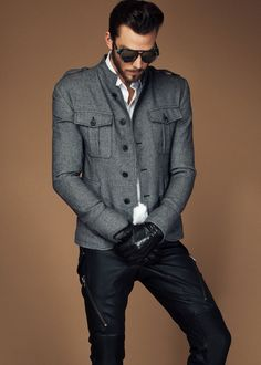 SLY 010 HOMME • F/W 2013/14 • LOOK 14 BLACK style