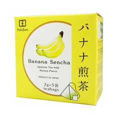 Banana flavoured sencha green tea bags are perfect for a tea break at home and at work. Banana green tea has a sweet and lasting flavour. Founded in 1790 in Kyoto, Fukujuen is one of the most respected and prestigious green tea sellers in Japan.  Gift packs with 6 or 9 flavoured tea bags available.  	6 assorted flavoured sencha green tea 	9 assorted flavoured sencha green tea  Producer: Fukujuen, Kyoto Country of manufacturing: Japan Amount: 2g x 5 bags in a box Shelf life: 365 days…