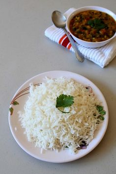 Basmati rice recipe - easy method to cook rice in a pan. You will get fluffy, each and every rice grain is separated by following this method