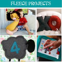 12 Fabulous projects to sew with fleece from the Tip Junkie!