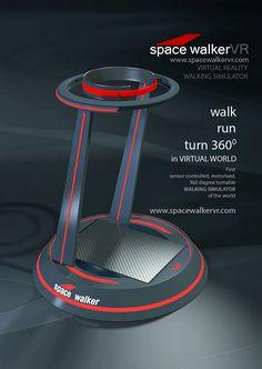 SpaceWalkerVR [Virtual Reality: http://appstore/iotmonitor