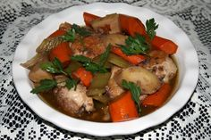 Downton Pheasant Casserole. For more on the food of the Edwardian era, go to the Facebook page The Food of Downton Abbey!