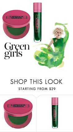 """Green girls"" by francescagiagnorio ❤ liked on Polyvore featuring beauty, Lipstick Queen and Green Girls"