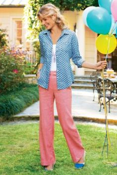 Nantucket Pants | Soft Surroundings - adorable pants for mom! The whole outfit would be great. Shoes + Top