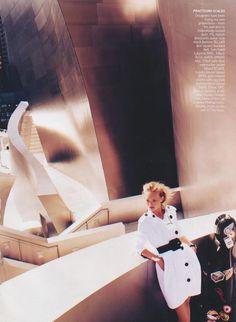 Gemma Ward by Mario Testino for Vogue US.