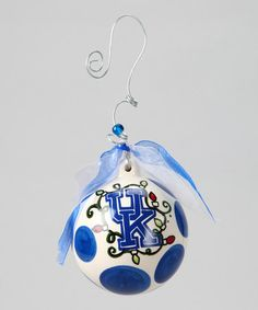 Take a look at this Kentucky Ball Ornament by Time to Tailgate: College Colors on @zulily today!