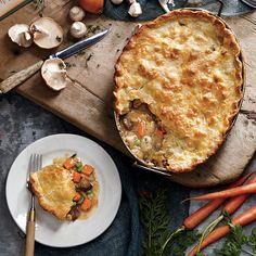 Comfort Food: Chicken Mushroom Potpie - 50 Healthy Chicken Breast Recipes - Cooking Light