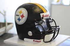 Steelers Helmet Cake
