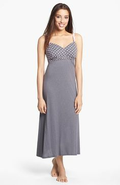 Cake 'Rocky Road' Maternity Nightgown available at #Nordstrom