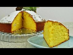 Greek Desserts, Greek Recipes, Cornbread, Biscuits, Good Food, Ethnic Recipes, Christmas Cakes, Youtube, Chef Recipes