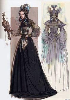 Padmé Amidala Packing Dress Concept