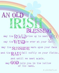 St Patricks day printable - may the road rise up Home Decor Sites, Home Decor Online, Decorating On A Budget, Decorating Blogs, Holiday Decorating, Inexpensive Home Decor, Cheap Home Decor, Old Irish Blessing, Irish Quotes