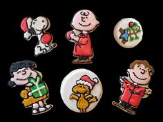 Charlie Brown and Snoopy Christmas Cookies