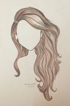 Draw wavy hair draw dibujar cabello pintura y dibujo arte. how to draw wavy Pencil Art Drawings, Art Drawings Sketches, Easy Drawings, Girl Drawings, Drawings Of Hair, Easy Realistic Drawings, Drawings Of People Easy, How To Draw Realistic, Cute Drawings Of Girls