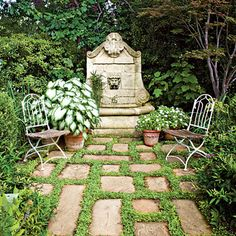 The Secluded Garden - The South's Best Gardens - Southern Living