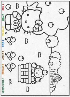 Mr Slow  color by number  Education  Math  Pinterest  Colors