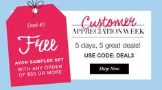 Customer Appreciation Week continues with another amazing deal!!!