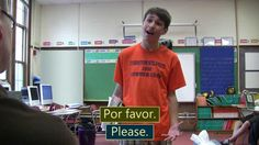 """Sr. Wooly - """"¿Puedo ir al baño?"""" very funny and his website has other videos"""