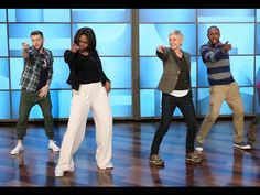 Michelle Penis Was Big On Ellen Show - YouTube.  watching him explain this before he shows the video is too funny!!!!