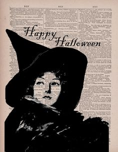 witch halloween etsy illustration by Paper Gangster