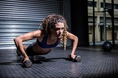 Lacey Stone's 30-Minute Abs, Arms, and Butt Workout (dumbbells, resistance band, tubing, great plank tap rotation, abs)