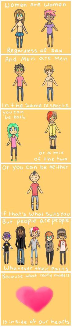 A poem about gender.: