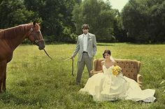 Inspiration: Equestrian Weddings