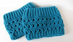 Boot cuffs crocheted boot cuffs Boot toppers by NanasGoneWild,