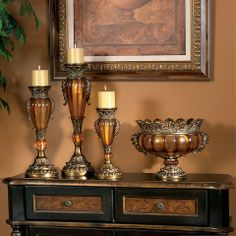 Old World Tuscan Decor | from stylish home decor