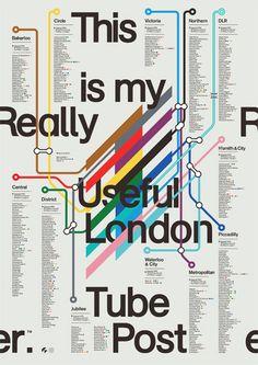 London Tube Poster | S/O/T/O