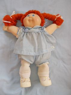 Vintage Cabbage Patch Kids Arnette Marni With Outfit & Paperwork #DollswithClothingAccessories