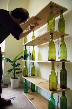 Pourquoi jeter ses bouteilles de vin vides quand…...