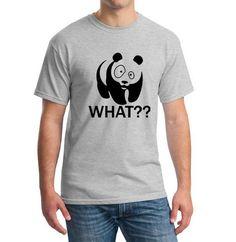 Wrestling Panda Comedy Short Sleeve Cool Camiseta 0e1abd89a27
