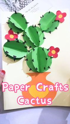 Paper Crafts Origami, Paper Crafts For Kids, Craft Activities For Kids, Preschool Crafts, Fun Crafts, Diy Paper, Spring Crafts For Kids, Fourth Of July Crafts For Kids, Art For Kids