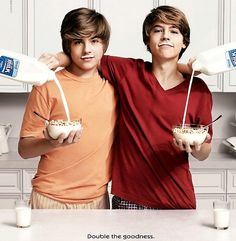 Cole and Dylan Sprouse...i'd still get at those...