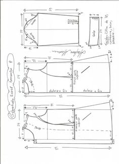 abrigo-entallado-s T Shirt Sewing Pattern, Easy Sewing Patterns, Coat Patterns, Pattern Drafting, Jacket Pattern, Clothing Patterns, Dress Patterns, Blazer Pattern, Embroidery Techniques