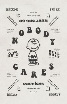NOBODY CARES Poster Design Poster design for a Risograph art show revolving ar… Typography Poster, Typography Design, Lettering, Interaktives Design, Layout Design, 2020 Design, Poster Design Inspiration, Graphic Design Posters, Simple Poster Design