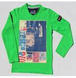 Boys in Control 302b groen shirt blauw
