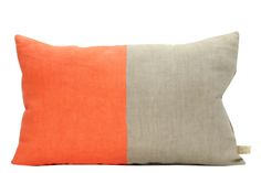 Half Vibrant Cushion Orange, Neutral by Lab Boutique on Clippings.com
