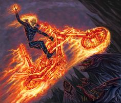 Ghost Rider Drawing By Sevreed On DeviantArt Ghost Rider 2007, Ghost Rider Movie, Ghost Rider Johnny Blaze, Ghost Rider Marvel, Ghost Rider Drawing, Ride Drawing, Gohst Rider, Hybrid Marvel, Biker Movies
