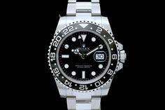 Rolex GMT-Master II mit Box & Papieren aus 2013 *Ungetragen*  Oyster-Band, Schwarzes Zifferblatt, Schwarze Keramik Lünette  Referenz: 116710LN | LC-170 | Ø 40 mm  http://www.juwelier-leopold.de/uhren/rolex/gmt_master_2.html
