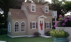 Childrens Custom Playhouses| DIY Playhouse Plans | Lilliput