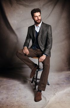 Love the outfit. Love the beard.